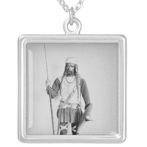 Model of a Frankish warrior Custom Necklace