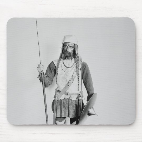 Model of a Frankish warrior Mouse Pad