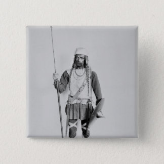 Model of a Frankish warrior Pinback Button