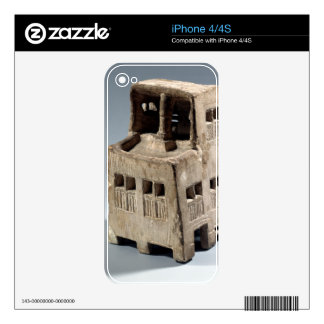 Model of a house (limestone) skins for the iPhone 4S