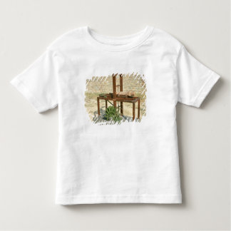 Model of a hydraulic saw toddler t-shirt