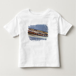 Model of a pirate ship, c.1810 toddler t-shirt