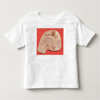 Model of a sheep's liver toddler t-shirt