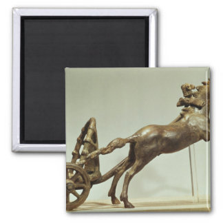 Model of a two horse chariot magnet