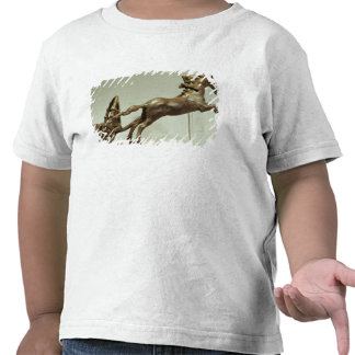Model of a two horse chariot t shirt