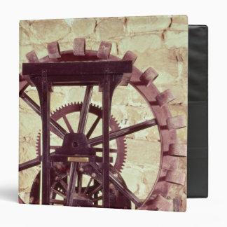 Model of a water wheel vinyl binder