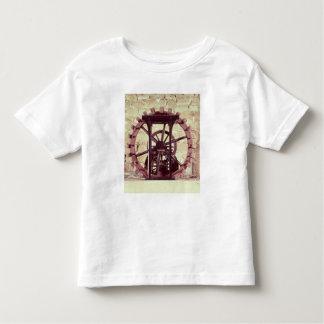 Model of a water wheel toddler t-shirt