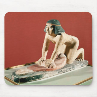 Model of a woman grinding grain, Old Kingdom Mouse Pad