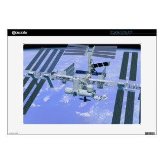 Model of an International Space Station Laptop Decals