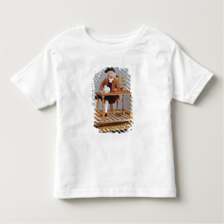Model of Benjamin Franklin  at his table Toddler T-shirt