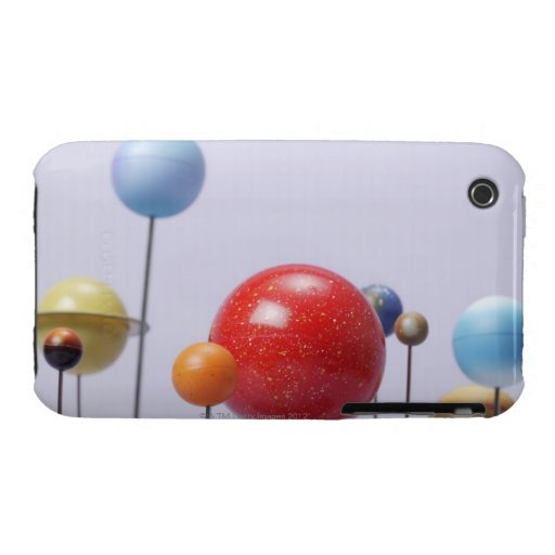 Model of planets iPhone 3 Case-Mate cases
