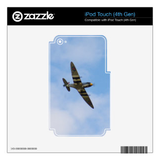 Model of Spitfire MK IX MK923 Decal For iPod Touch 4G