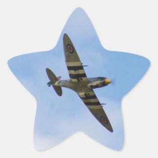 Model of Spitfire MK IX MK923 Star Sticker