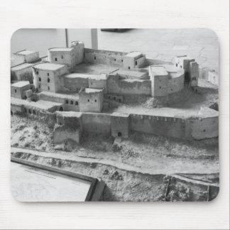 Model of The Krak des Chevaliers, model Mouse Pad