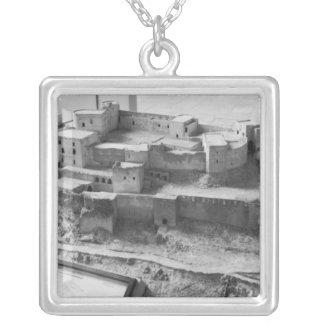 Model of The Krak des Chevaliers, model Square Pendant Necklace