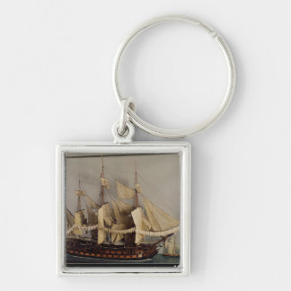 Model of the ship 'L'Achille' Keychain