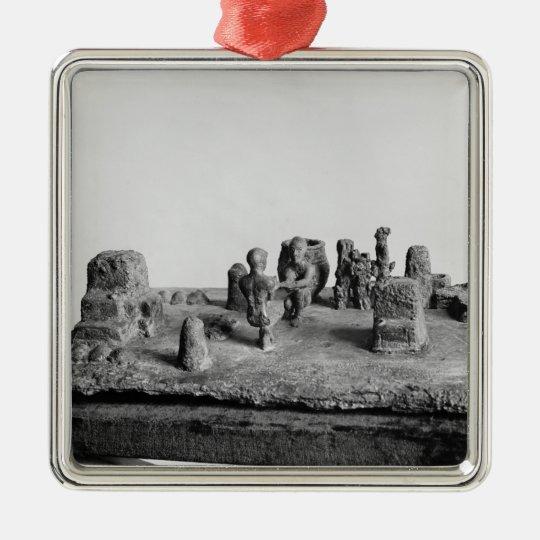 Model of the 'Sit Shamsi' ceremony Metal Ornament