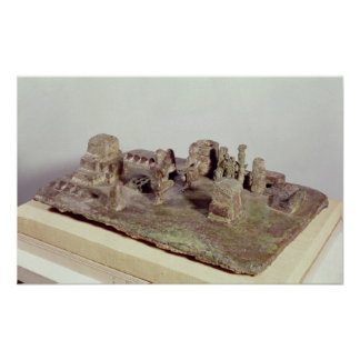 Model of the 'Sit Shamsi' ceremony Poster