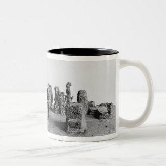 Model of the 'Sit Shamsi' ceremony Two-Tone Coffee Mug