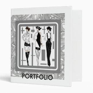 model portfolio binder