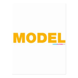 Model Postcard
