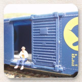 Model Railroading Coaster Set