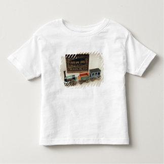 Model railway, c.1870 toddler t-shirt
