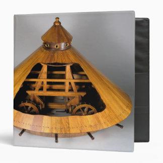 Model reconstruction of da Vinci's design 3 Ring Binder
