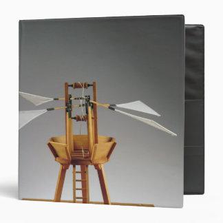 Model reconstruction of da Vinci's design Binder