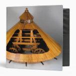 Model reconstruction of da Vinci's design Binders