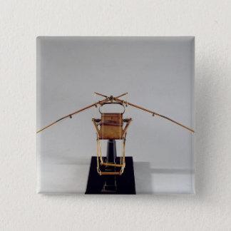 Model reconstruction of da Vinci's design Button