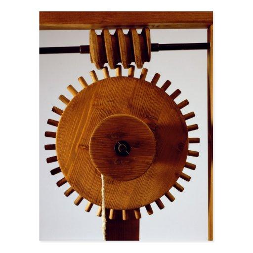 Model reconstruction of da Vinci's design Post Cards