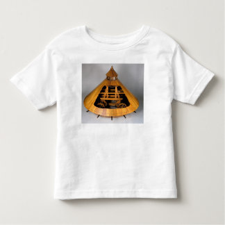 Model reconstruction of da Vinci's design Toddler T-shirt