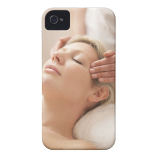 MODEL RELEASED. Facial. iPhone 4 Case-Mate Case