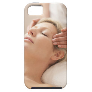 MODEL RELEASED. Facial. iPhone SE/5/5s Case