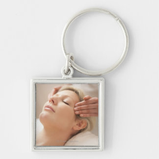 MODEL RELEASED. Facial. Key Chains