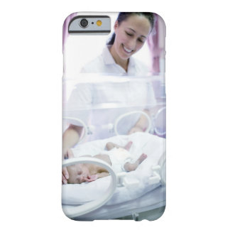 MODEL RELEASED. Nurse and premature baby. Barely There iPhone 6 Case