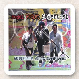 Model Rocket Scientist Affordable audio healthcare Coaster