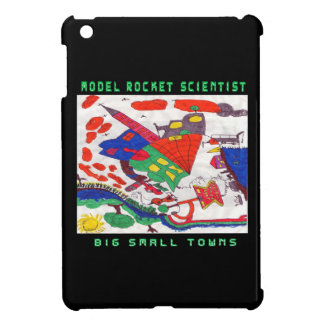 Model rocket Scientist Big small towns Case For The iPad Mini