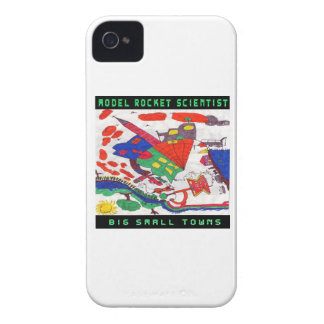 Model rocket Scientist Big small towns iPhone 4 Cover