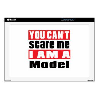 Model  scare designs skin for laptop