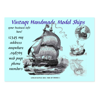 Model ship building-Business Card