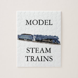 Model Steam Locomotive Jigsaw Puzzle