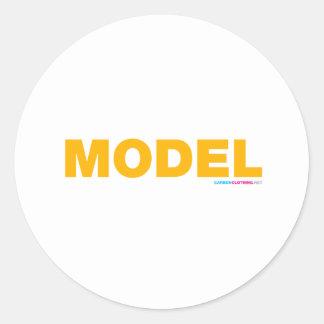 Model Stickers