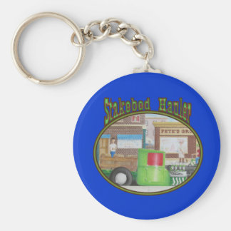Model-T Ford Stakebed Delivery Truck Key Chains