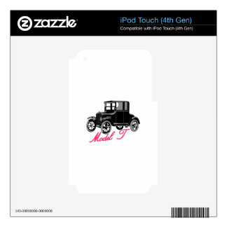 Model T Skin For iPod Touch 4G