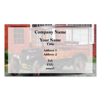 Model T Station Wagon Business Card