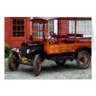Model T Station Wagon Card