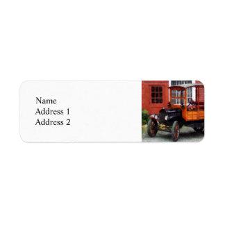 Model T Station Wagon Label