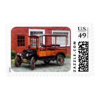 Model T Station Wagon Postage